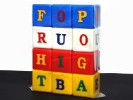 Cuburi cu litere